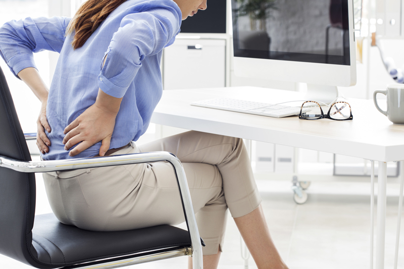 Relationship Low Back Pain and Sitting Behavior Sedentary Office Workers